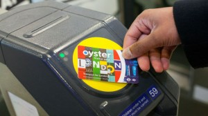 oyster card touching